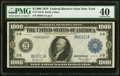 Fr. 1133-B $1,000 1918 Federal Reserve Note PMG Extremely Fine 40