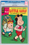 Silver Age (1956-1969):Humor, Marge's Little Lulu Summer Camp #1 File Copy (Gold Key, 1967) CGC NM 9.4 Off-white to white pages....