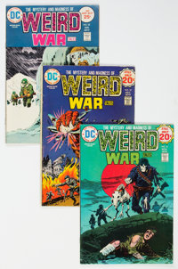Weird War Tales Box Lot (DC, 1973-82) Condition: Average VG/FN.... (Total: 2 Box Lots)