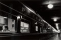 Photographs, Louis Stettner (American, 1922-2016). Penn Station, New York, 1958. Gelatin silver, printed later. 9-1/8 x 13-3/4 inches...