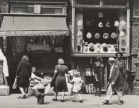 Todd Webb (American, 1905-2000) Orchard Street, New York, 1946 Gelatin silver, printed later 6-1/2 x 8-1/2 inches (1