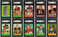 Football Cards:Sets, 1963 Topps Football Mid to High Grade Complete Set (170). ...