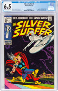 Silver Age (1956-1969):Superhero, The Silver Surfer #4 (Marvel, 1969) CGC FN+ 6.5 Off-white ...