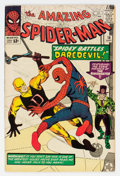 Silver Age (1956-1969):Superhero, The Amazing Spider-Man #16 (Marvel, 1964) Condition: FN.
