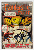 Silver Age (1956-1969):Superhero, Fantastic Four #8 (Marvel, 1962) Condition: GD/VG....