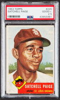 Baseball Cards:Singles (1950-1959), 1953 Topps Satchell Paige #220 PSA Good+ 2.5....
