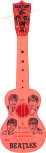 Music Memorabilia:Memorabilia, The Beatles Jr. Vintage Toy Guitar by Mastro (NEMS, 1964). . ...
