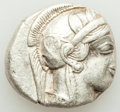 Ancients:Greek, ATTICA. Athens. Ca. 440-404 BC. AR tetradrachm (25mm, 17.1...