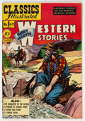 Golden Age (1938-1955):Classics Illustrated, Classics Illustrated #62 Bret Harte's Western Stories - First Edition (Gilberton, 1949) Condition: VF+....