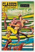 Golden Age (1938-1955):Classics Illustrated, Classics Illustrated #56 Toilers of the Sea - First Edition (Gilberton, 1949) Condition: FN/VF....