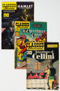 Golden Age (1938-1955):Classics Illustrated, Classics Illustrated - First Editions Group of 8 (Gilberton, 1947-55) Condition: Average FN-.... (Total: 8 Comic Books)
