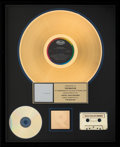 Music Memorabilia:Awards, The Beatles White Album RIAA Hologram Gold Sales Award (1968). ...