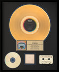 Music Memorabilia:Awards, The Beatles Magical Mystery Tour RIAA Hologram Gold Sales Award (1967). ...