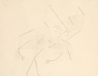 Paul Klee (1879-1940) Kind (Small Version), 1930 Pencil on paper 8-5/8 x 11 inches (21.9 x 27.9 c