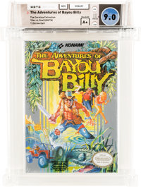 The Adventures of Bayou Billy [Oval SOQ TM] - Carolina Collection Wata 9.0 A+ Sealed NES Konami 1989 USA