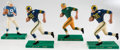 Football Collectibles:Others, 1960's Football Player Hartland Statues Lot of 4 with Unitas. ...