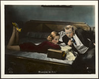 "Grand Hotel (MGM, 1933). Very Fine-. German Color Transparency Lobby Card (11.75"" X 9.25"")"