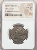 Ancients:Ancient Lots  , Ancients: ANCIENT LOTS. Greek. Ca. 3rd century BC. Lot of three (3) AE issues. NGC Choice Fine-XF.... (Total: 3 coins)