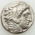 Ancients:Greek, Ancients: MACEDONIAN KINGDOM. Alexander III the Great (336-323 BC). AR tetradrachm (25mm, 16.36 gm, 3h). VF, porosity....