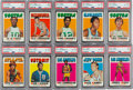 Basketball Cards:Sets, 1971 Topps Basketball High Grade Complete Set (263). ...