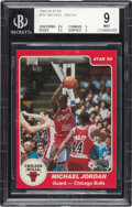 Basketball Cards:Singles (1980-Now), 1984-85 Star Co. Michael Jordan #101 BGS Mint 9....