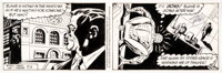 Larry Lieber and Stan Lee The Amazing Spider-Man Daily Comic Strip Original Art dated 8-3-92 (King Features Syndic