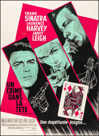"The Manchurian Candidate (United Artists, 1962). Very Fine on Linen. French Grande (45.5"" X 62.5""). Thriller..."