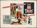 """Movie Posters:Western, The Big Trees (Warner Brothers, 1952). Rolled, Fine+. Half Sheet (22"""" X 28""""). Western.. ..."""