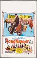 "Movie Posters:Elvis Presley, Roustabout (Paramount, 1964). Folded, Fine/Very Fine. Window Card (14"" X 22""). Elvis Presley.. ..."