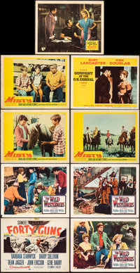 Forty Guns & Other Lot (20th Century Fox, 1957). Overall: Fine/Very Fine. Title Lobby Card, Lobby Card Set of 8...