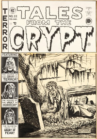 Al Feldstein Tales from the Crypt #22 Cover Original Art (EC, 1951)