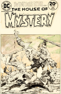Bernie Wrightson House of Mystery #231 Cover Original Art (DC, 1975)
