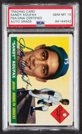 Autographs:Sports Cards, Signed 1955 Topps Sandy Koufax #123 PSA/DNA Gem MT 10....