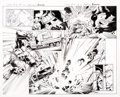 Original Comic Art:Panel Pages, Mark Bagley and Andrew Hennessy Hulk #2 Story Pages 15 and 16 Original Art (Marvel Comics, 2014)... (Total: 2 Original Art)