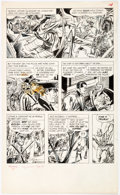 Original Comic Art:Panel Pages, Don Heck and André LeBlanc Mandrake the Magician #1 Story Page 14 Original Art (King Features, 1966)....