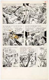 Don Heck and André LeBlanc Mandrake the Magician #1 Story Page 14 Original Art (King Features, 1966)