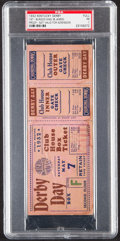 Miscellaneous Collectibles:General, 1932 Kentucky Derby Full Proof Ticket, PSA Poor 1....