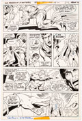 Original Comic Art:Panel Pages, Ric Estrada and Mike Royer The Freedom Fighters #1 Story Page 17 Original Art (DC, 1976)....