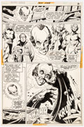 Original Comic Art:Panel Pages, Dick Dillin and Dick Giordano Justice League of America #104 Story Page 2 Original Art (DC Comics, 1973)....