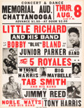 Music Memorabilia:Posters, Little Richard 1957 Rock 'N' Roll / R&B Concert Poster w/10 Hit Acts on the Bill...