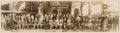 Movie/TV Memorabilia:Photos, The Marx Brothers The Cocoanuts Company Stage Play Panoramic Picture (1927). ...