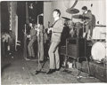 Music Memorabilia:Photos, The Beatles Large Format Photograph Floral Hall Southport (UK-1963). ...