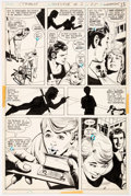 Original Comic Art:Panel Pages, Dick Giordano Strange Sports Stories #3 Story Page 5 Original Art (DC Comics, 1974). ...