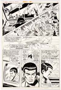 Sal Buscema and John Verpoorten Captain America #147 Story Page 12 Original Art (Marvel Comics, 1972)