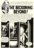 "Original Comic Art:Complete Story, Dan Adkins and Bill Pearson Creepy #14 Complete 8-Page Story ""The Beckoning Beyond!"" Original Art (Warren, 1967).... (Total: 8 Original Art)"