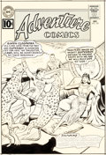 Original Comic Art:Covers, Curt Swan and George Klein Adventure Comics #291 Cover Superboy Original Art (DC, 1961)....