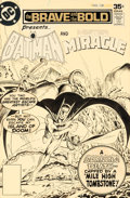 Original Comic Art:Covers, Jim Aparo Brave and the Bold #138 Cover Batman and Mister Miracle Original Art (DC, 1977)....