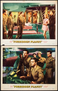 Movie Posters:Science Fiction, Forbidden Planet (MGM, 1956). Fine+. Lobby Cards (...