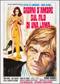 Movie Posters:Foreign, Love and Death on the Edge of a Razor & Other Lot (Attias, 1973). Folded, Overall: Very Fine-. Italian 2 - Foglis (2) (39.25... (Total: 2 Items)