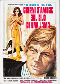Love and Death on the Edge of a Razor & Other Lot (Attias, 1973). Folded, Overall: Very Fine-. Italian 2 - Foglis (2...
